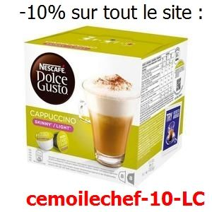 Capsules De Cafe Nescafe Dolce Gusto 87377 Cappuccino Light 16 Uds En 2020 Cappuccino Capsule De Cafe Nescafe Dolce Gusto