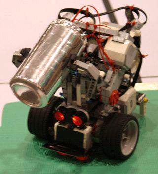 Lego MindStorms EV3 RoboCup Junior Open Rescue Robot Australian