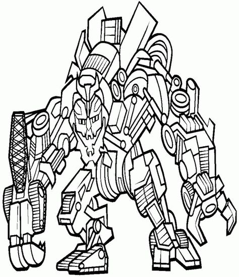 ausmalbilder transformers 02  ausmalbilder transformers
