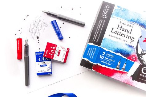 Pilot Enso Package Set For Calligraphy Hand Lettering Pluma