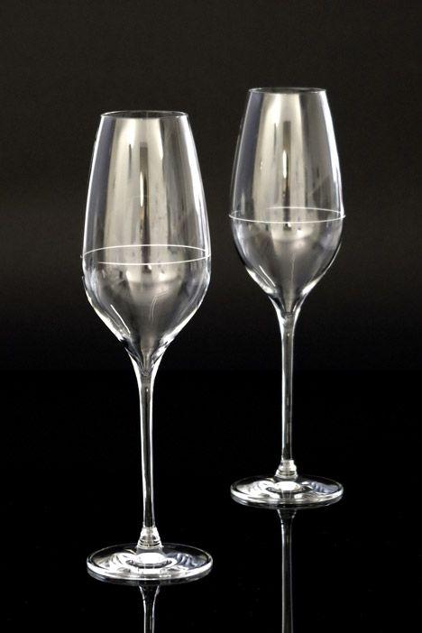 Richard Juhlin Optimum champagne glass by Claesson Koivisto Rune