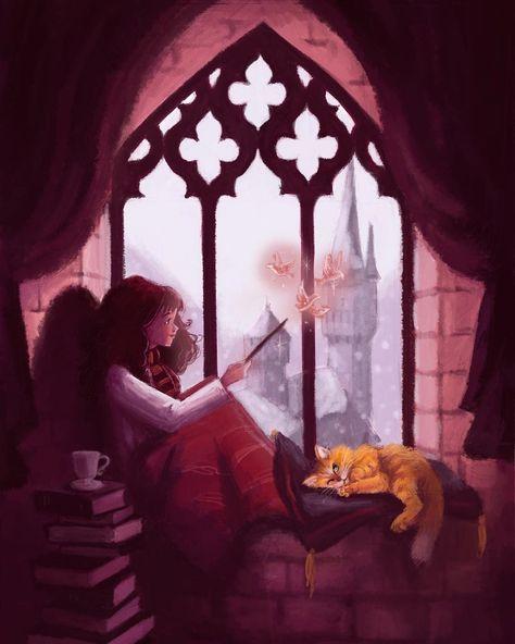 Hermione Granger - jessicawclarkillustration