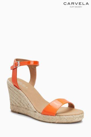 d24e9ea78b3 Orange Carvela Komb Espadrille Wedge Sandal   NEXT   Espadrilles ...