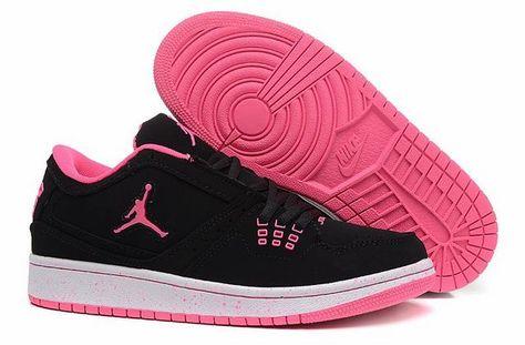 air jordan 1 femme noir et rose