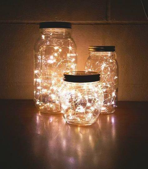 Dream Rooms Mason Jar Fairy Lights Mason Jar Diy Jar Lights