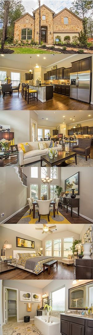 The Edmonton Model In Lennar At Sawmill Ranch From @Lennar Houston Features  3 Bedrooms And. Amazing HousesModel Home DecoratingDream ...