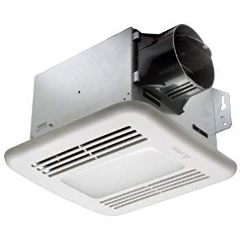 Broan Hd80l Heavy Duty Ventilation Fan And Light 80 Cfm 2 5 Sones Bathroom Fans Amazon Com Dimmable Led Lights Bath Fan Dimmable Led