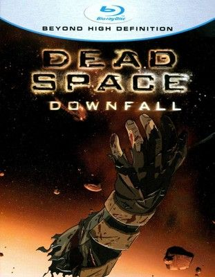 Dead Space Downfall Blu Ray Space Dead Downfall Movie Art