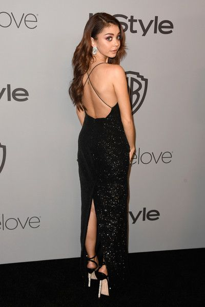 Actor Sarah Hyland attends the 19th Annual Post-Golden Globes Party hosted by Warner Bros. Pictures and InStyle.