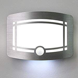 LED Lampada da parete con rilevatore di movimento esterno-FARETTO 10w ip54 FARETTI MURO