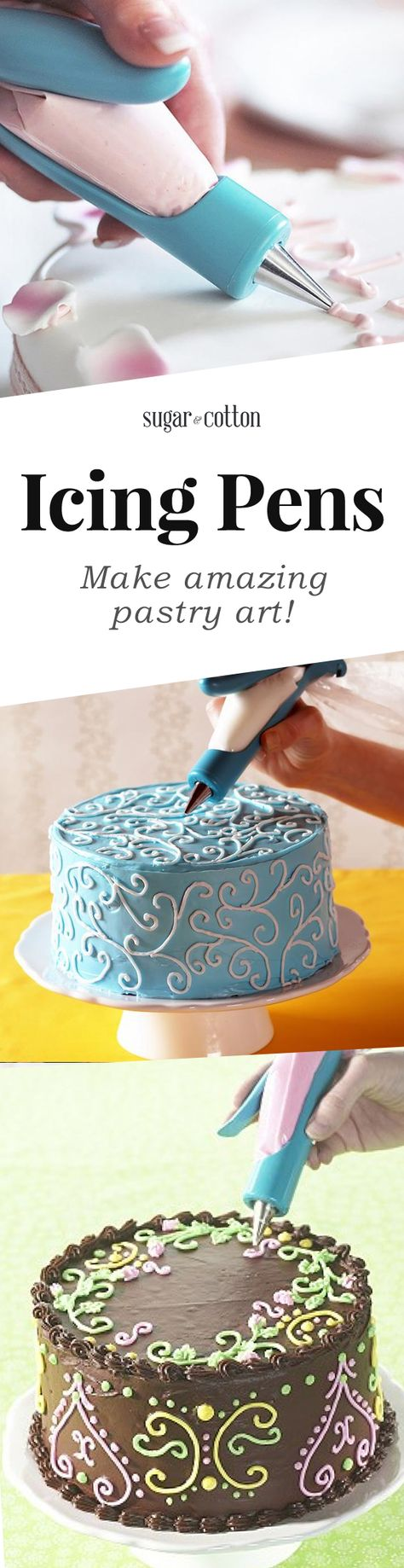 icing pens make gorgeous pastry art in seconds 5 5 2