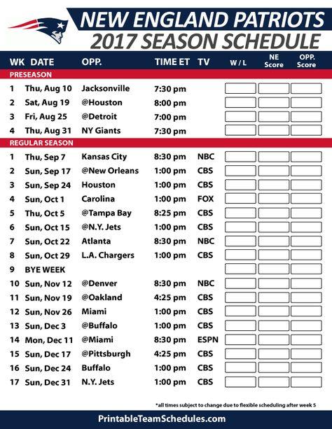 1f7a35ed Printable Chicago Bears Schedule - 2019 Season