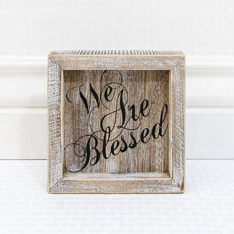 Blessed Framed Sign