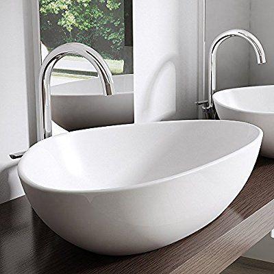 Bth 67x44x15 Cm Design Aufsatzwaschbecken Brussel895 Aus Keramik