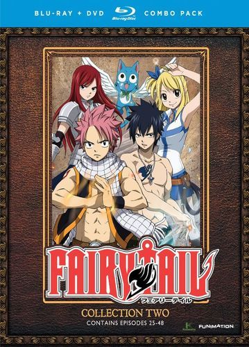 Fairy Tail: Collection Two [8 Discs] [Blu-ray] | Japanese online ...