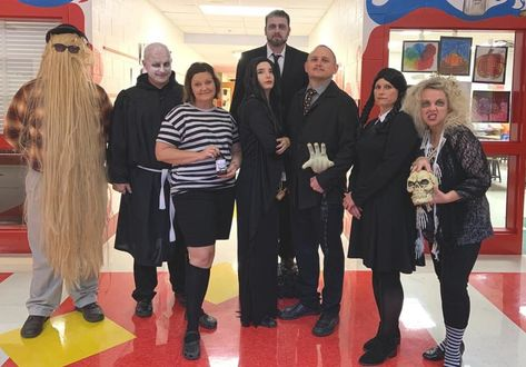 #Interestingthings  - My school's academics dressed up as The Adams Household for Halloween – previous/p> On #fascinating #picoftheday #remarkable #beautiful More