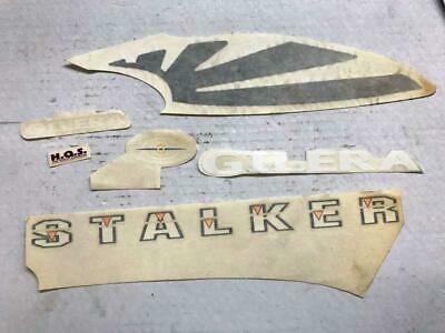 Advertisement Ebay Set Incomplete Stickers Piaggio Gilera Stalker