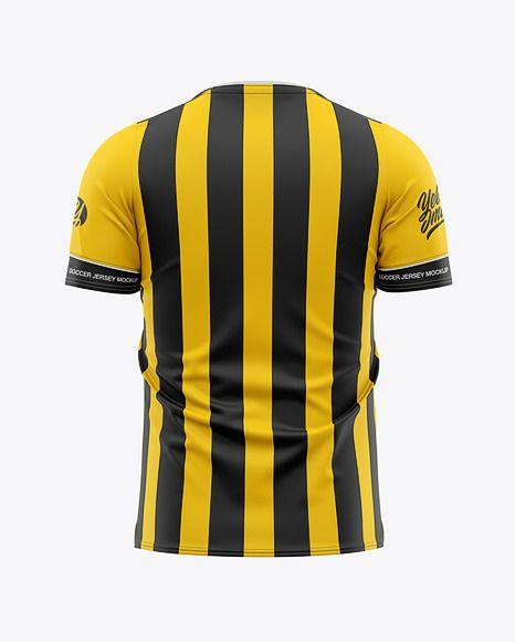 Download Men S Soccer Jersey Mockup Back View Football Jersey Soccer T Shirt In Apparel Mockups On Yellow Images Object Mockups Shirt Mockup Clothing Mockup Design Mockup Free