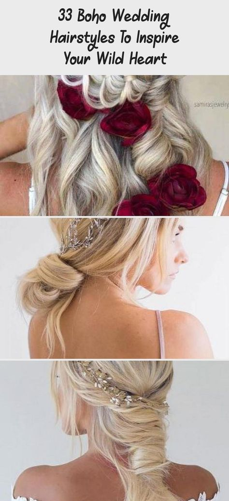 Braided Wedding Hairstyles With Accessories #weddinghairstyles #hairstyles #bohostyle ❤️Wedding hairstyles are many, and very often it is pretty tricky to come up with a proper one. When we realized that our help was needed, we could not help but compile his trendy and inspiring compilation to ease both your life and your choice! Let us know if we succeeded! ❤️ #lovehairstyles #hair #hairstyles #haircuts #weddinghairMessy #weddinghairWithBangs #weddinghairPieces #Indianweddinghair #weddinghairCr