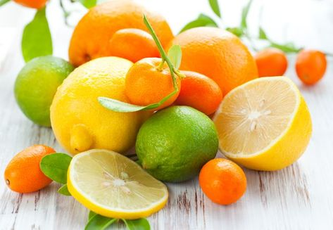 Citrus fruits have the advantage of containing several different antioxidants that may help prevent a range of health concerns, from cardiovascular disease and cancer to skin damage from sunlight. Different types of citrus fruits have similar nutrients but in slightly different amounts.
