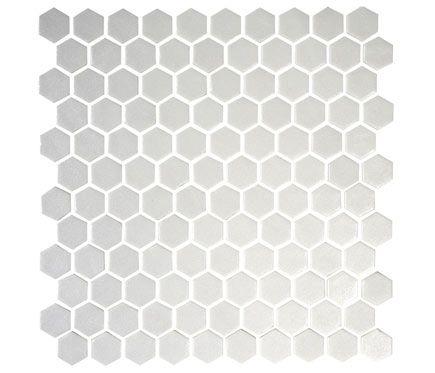 Mosaico 31 X 31 Cm Blanco Serie One Mosaic Deco