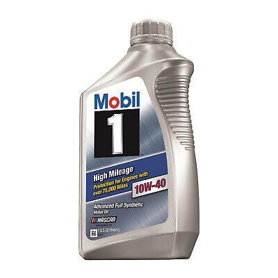 Ebay Advertisement Mobil 1 1035361 High Mileage Engine Oil 10w 40 1 Quart Automotive Tools Ebay Vodka Bottle
