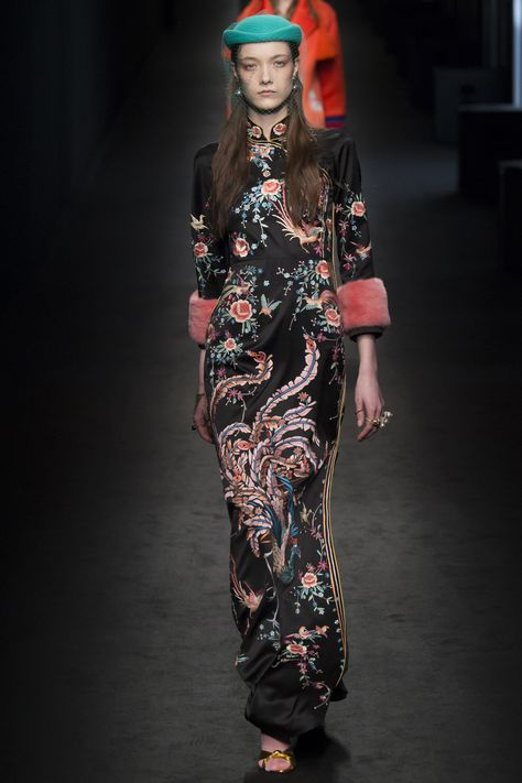 Catwalk photos and all the looks from Gucci Autumn/Winter Ready-To-Wear Milan Fashion Week