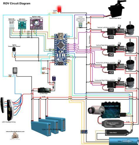 ROV Slave Circuit Diagram