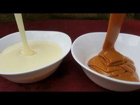 نسلي الحليب المحلى بنوعيه وبنتيجة مضمونة ورائعة Youtube Desserts Cake Decorating Food