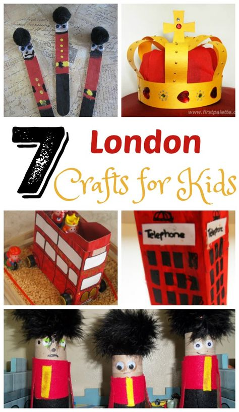 7 fun art projects for kids to help them learn about London. 7 fun art projects for kids to help them learn about London. Around The World Crafts For Kids, Around The World Theme, Arts And Crafts For Teens, Art And Craft Videos, Art For Kids, Multi Cultural Crafts For Kids, London Activities, Activities For Kids, Multicultural Activities