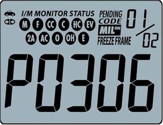 p0306 engine code