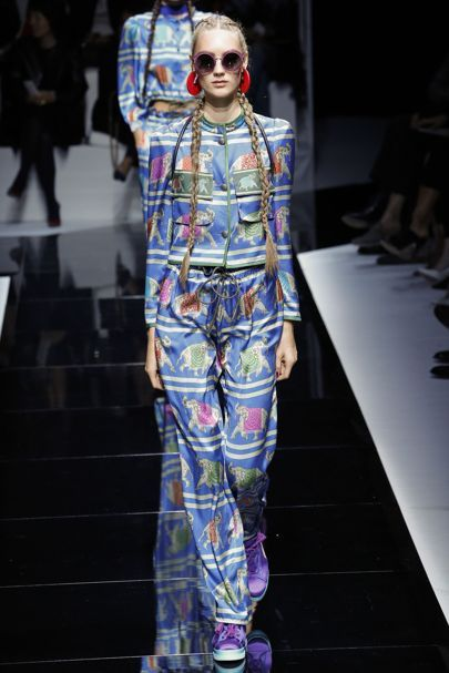 Emporio Armani Spring/Summer 2017 Ready-To-Wear Collection   British Vogue