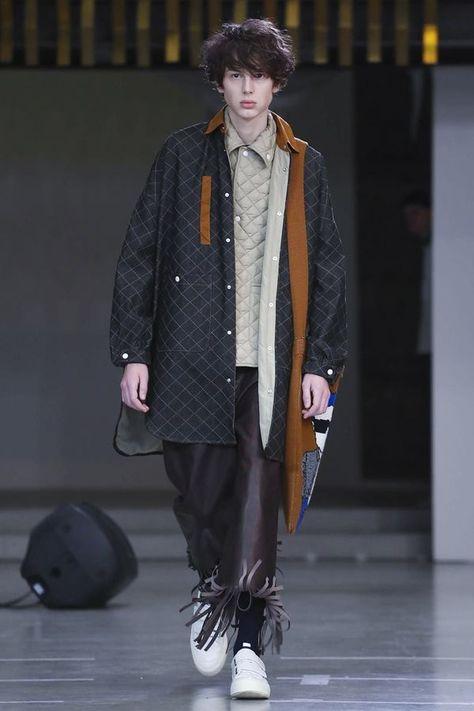 Sunnei Menswear Fall Winter 2018 Milan - NOWFASHION