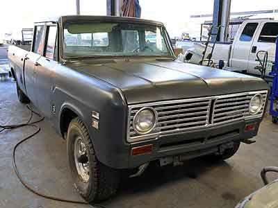 1973 International Harvester Crew Cab Pickup for Sale at Deer Valley Diesel Repair, Inc.