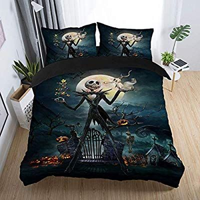 Forever Nightmare Before Christmas Duvet Cover With 2 Pillow Cases Quilt Cover 3d Be Christmas Bedding Set Nightmare Before Christmas Bedding Christmas Bedding