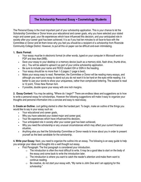 Scholarship Essay Example. Best 25+ Short Essay Examples Ideas On