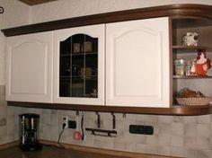 Vorher Nachher in einer Landhausküche | Kitchen | Pinterest ...