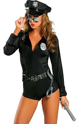 My Way Patrol Seven Piece Police Costume Includes Zipper Front ...