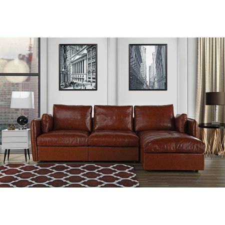 L Shape Living Room Real Leather Sectional Sofa With Chaise Lounge Light Brown Leathersect Sectional Sofa With Chaise Leather Sectional Sofas Sectional Sofa