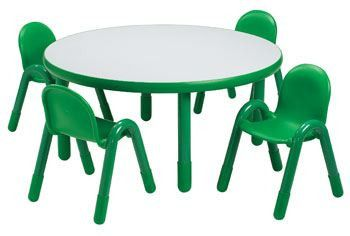 An 749d 22 Angeles Baseline Table Round 36 Dia Height 22