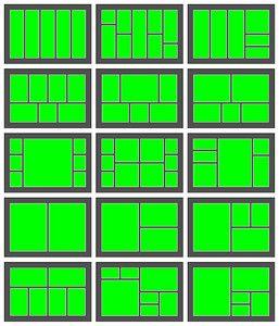 photo collage layout ideas 3 | Desktop Publishing Design | Pinterest