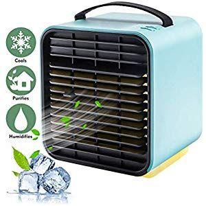 Climatiseur Portable Mini Ventilateur De Bureau Purificateur De Circulation Dair Refroidisseur Ventilateur De Bureau Climatiseur Portable Climatisation Maison