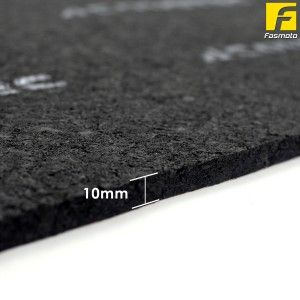 Acoustec Pro Sound Dampening And Insulation Sheet 95cm X 50cm Thickness 10mm Sound Dampening Sound Insulation Insulation Sheets