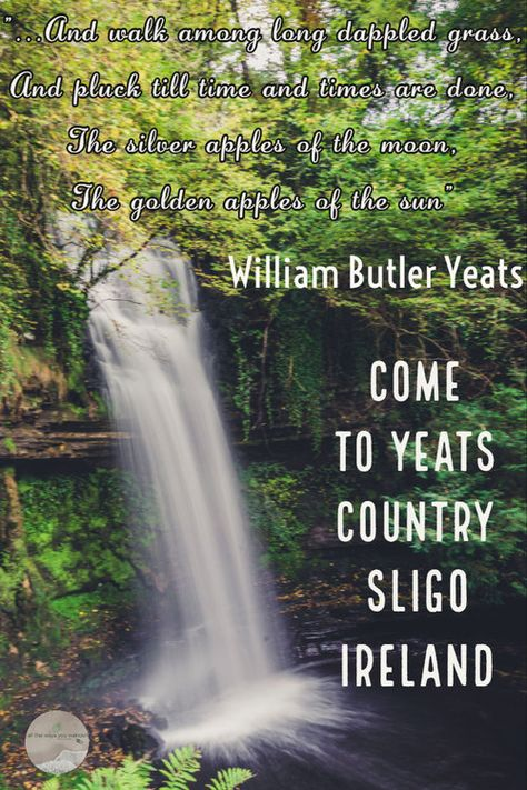 The inspiration for Yeats' poems is in this hidden corner of Ireland. Visit Ireland in the off season and have these beauty spots all to yourself | Blog by all the ways you wander | we travel to inspire | #ireland #waterfall #lakes #sligo #offseason