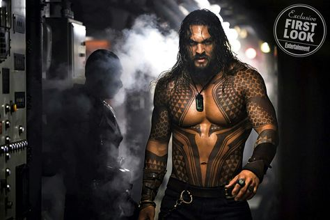 Aquaman first look the sea king his wife film