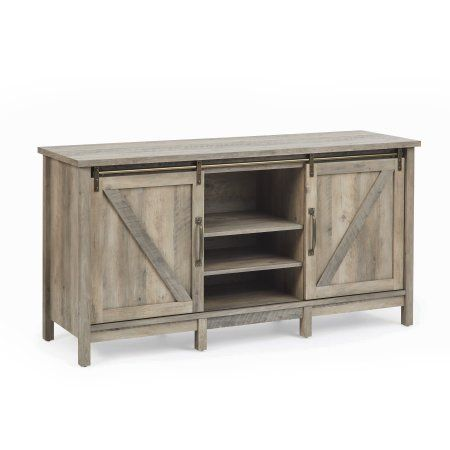 Home Farmhouse Tv Stand Barn Door Tv Stand Tv Stand Decor
