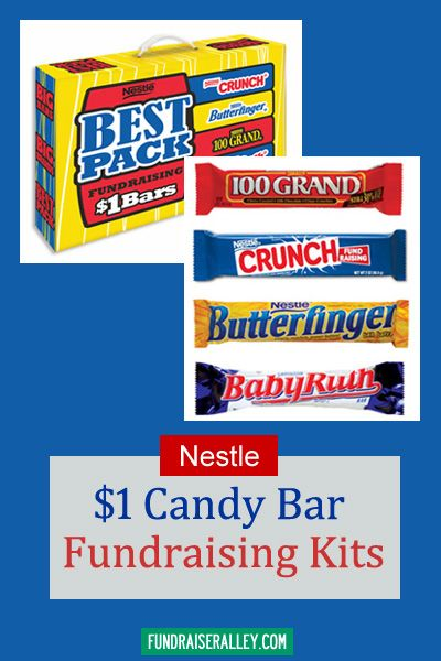 Nestle Candy Bar Fundraising Kits 1 Candy Bars Are An Easy Fundraising Idea Dollarbarfundraiser Fundraiseralley Fundraising Candy Fundraiser Candy Bar