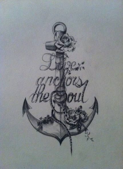57 Ideas tattoo thigh anchor quotes #tattoo #quotes