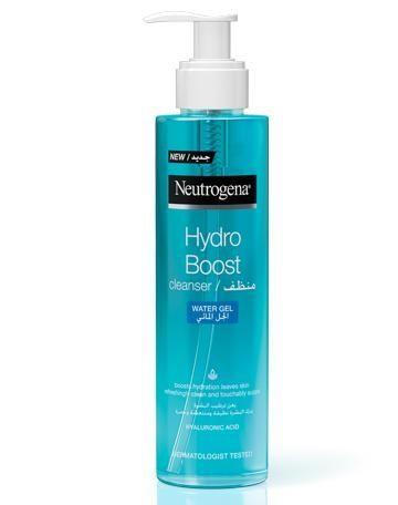 غسول نيتروجينا الأزرق Shampoo Bottle Neutrogena Hydro Boost Hand Soap Bottle