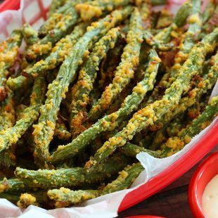 Green Bean Fries Low Carb Gluten Free Side Healthy